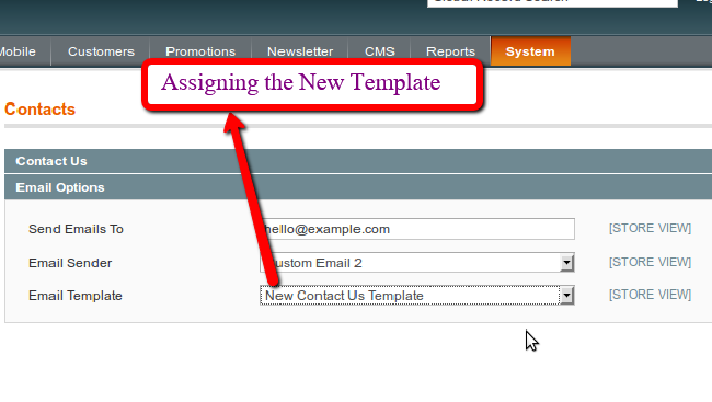 how to add menu in magento frontend